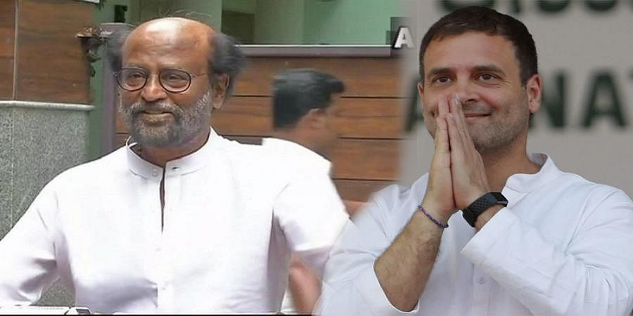 Rahul Gandhi should not resign. He should prove he can do it. In democracy the opposition should also be strong: Rajinikanth
