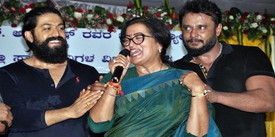 Independent MP Sumalatha Ambareesh dedicated her win to Mandya people