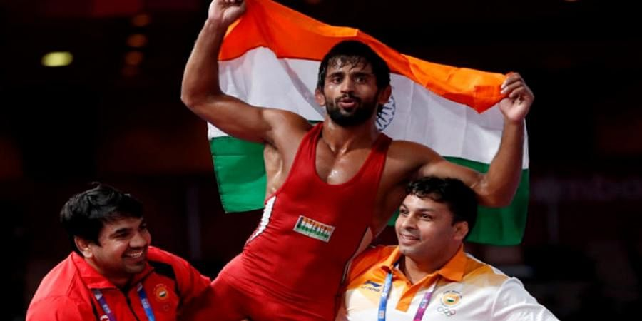 Bajrang Punia wins gold at Ali Aliyev wrestling tournament