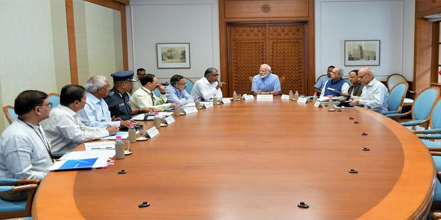 Cyclone Fani: PM Modi holds meeting to review preparedness