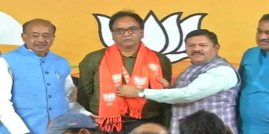 AAP MLA Anil Bajpai joins BJP, says not getting 'respect' in party