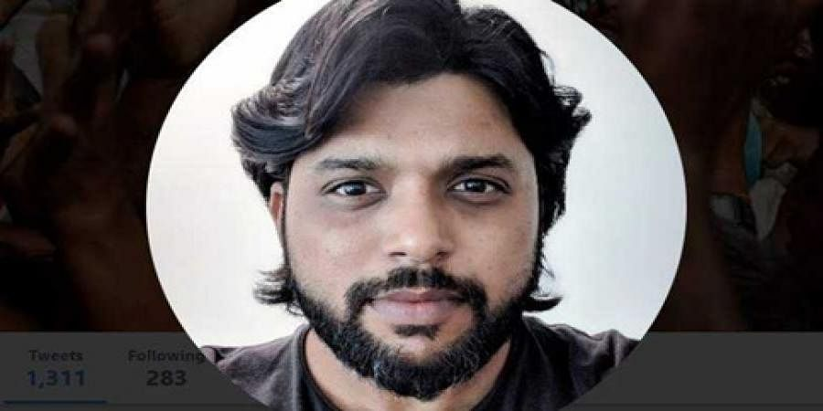 Siddiqui Ahamad Danish who was arrested by the Lankan police