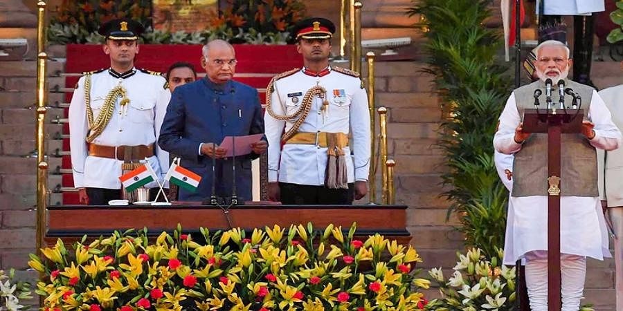 Modi takes oath as the Prime Minister of India for second consecutive term
