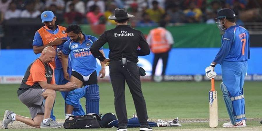 Kedar Jadhav's injury raises alarm bells in India camp
