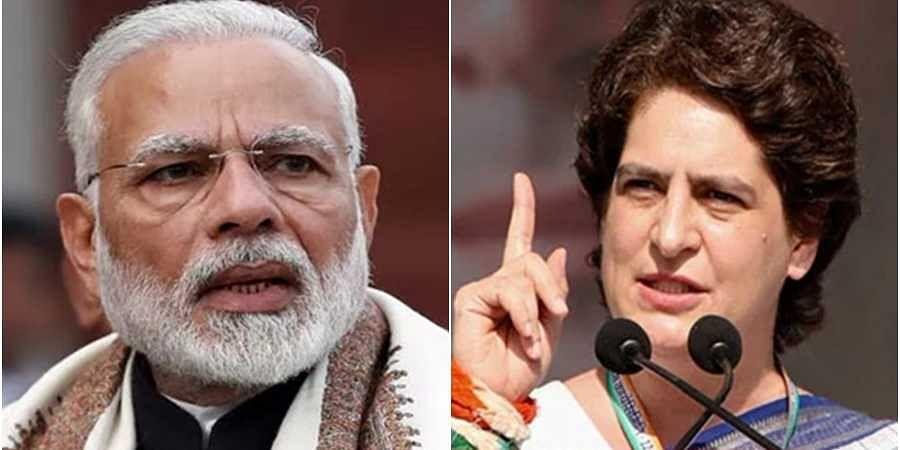 Narendra Modi-Priyanka Vadra