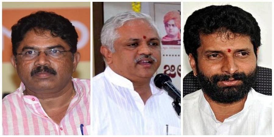 R.Ashok. BL Santhosh And Ct Ravi