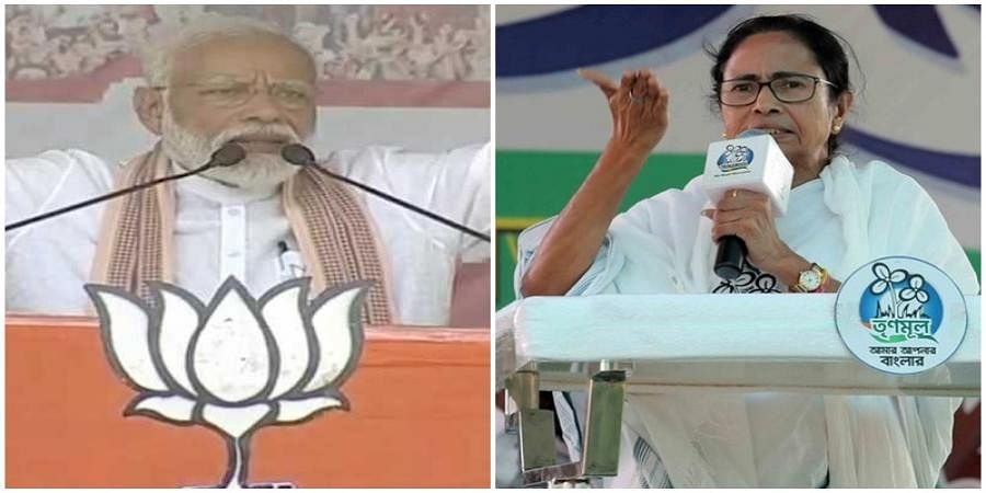 Your slap a blessing, but can you slap extortionists, Modi asks Mamata