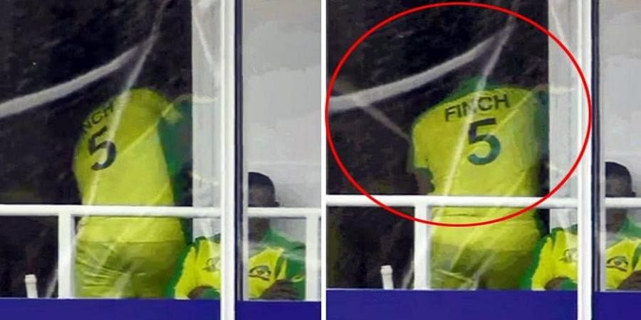 Aaron Finch Smashes Dressing-Room Window After Runout Against India During ICC World Cup 2019 Clash Against Australia
