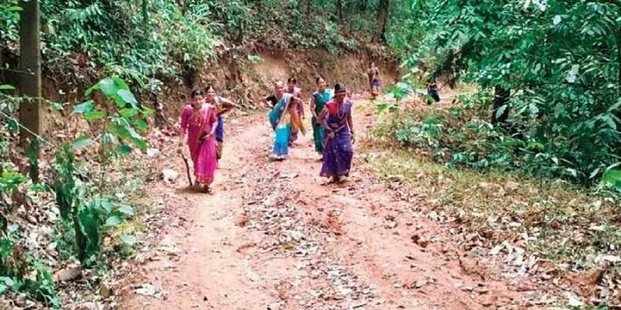 Bad road keeps marriage proposals away from this village
