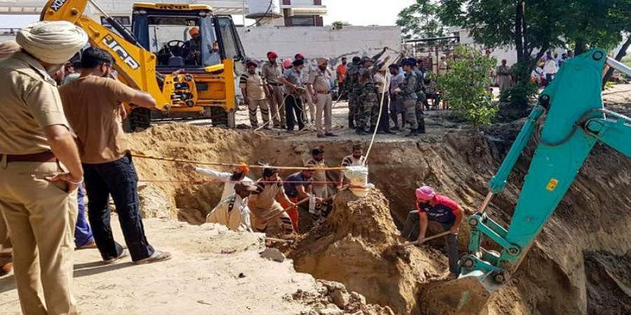 Punjab: Boy rescued from borewell after 109 hrs dies