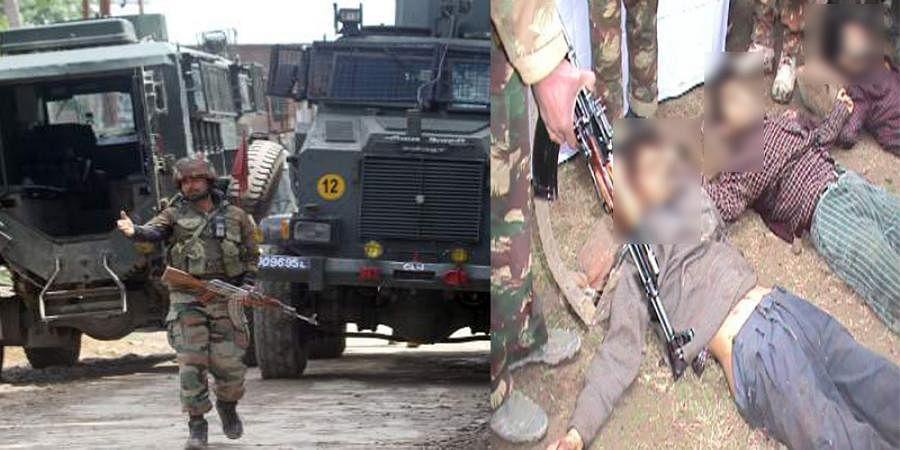 Two terrorists killed in South Kashmir's Shopian district