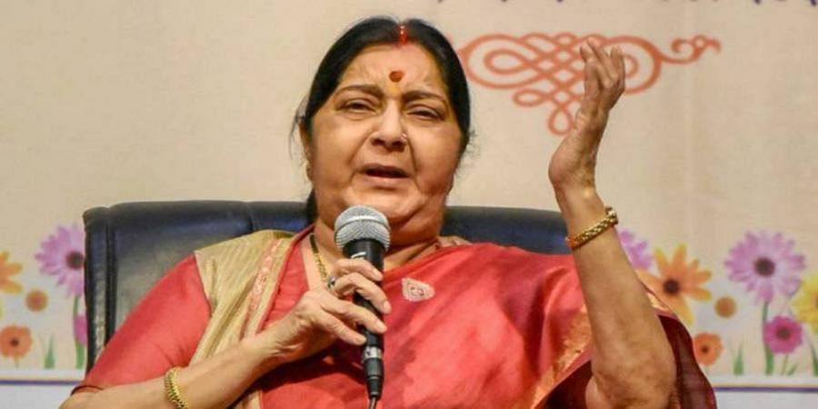 Sushma Swaraj says news of her appointment as Governor not true