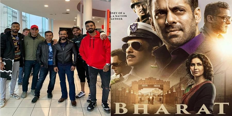 Shikhar Dhawan joins MS Dhoni, Hardik Pandya and KL Rahul to watch Bharat in Nottinghamy