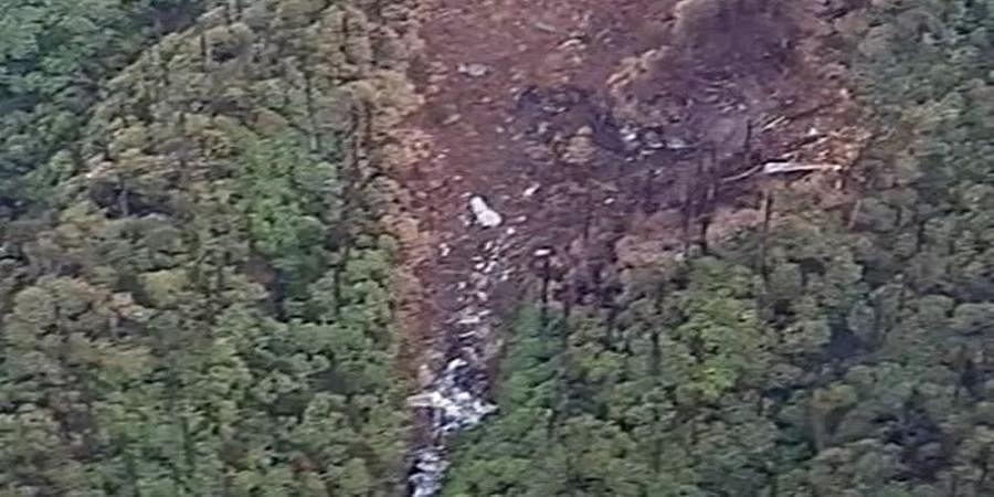 AN-32 crashed into hill: IAF