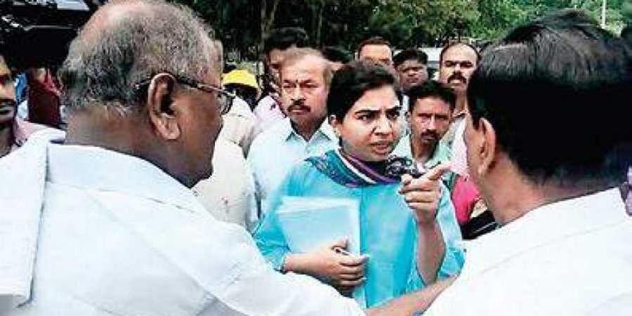 IAS officer, Shivamogga MLC have an ugly spat