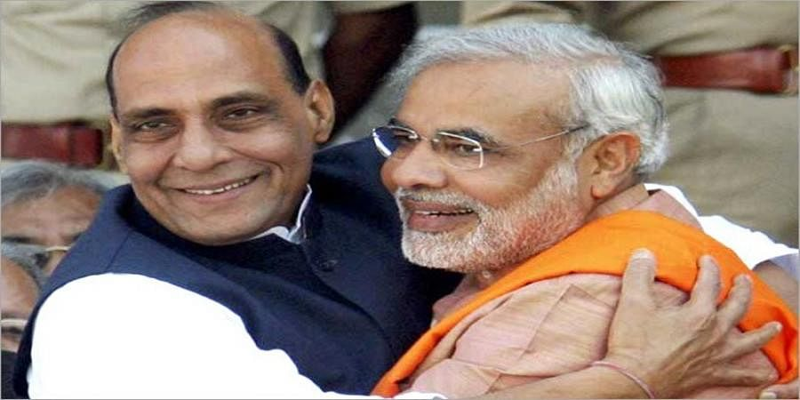 Rajnath Singh, not Amit Shah, is Modi's deputy in Lok Sabha