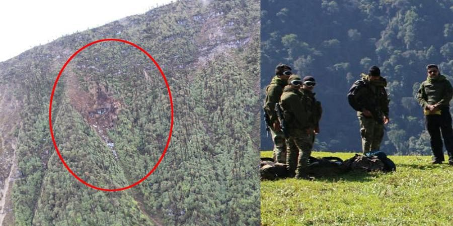 IAF search teams reached the AN-32 crash site, did not find any survivors
