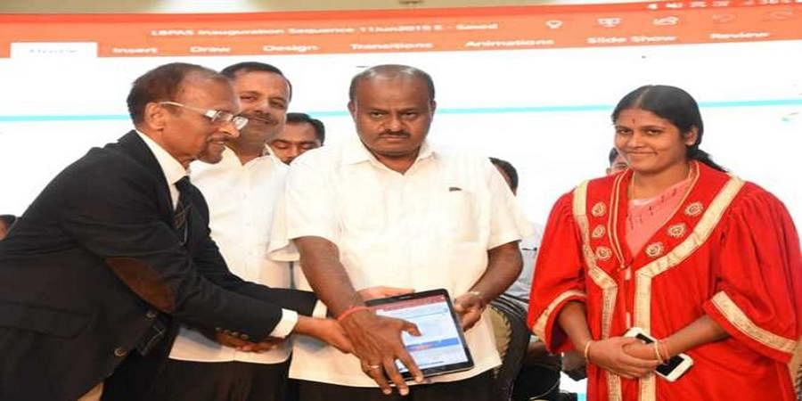 CM HDK inaugurate BHOOMI online website