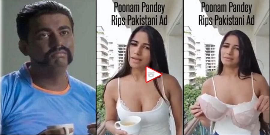 WATCH: How bollywood Actress Poonam Pandey mocks Pakistan for World Cup jibe