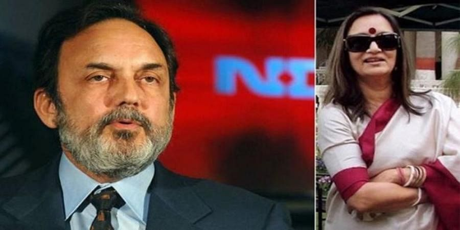SEBI bars NDTV promoters Prannoy Roy, Radhika Roy from securities market, top positions