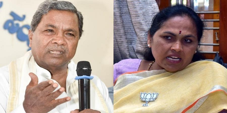 Siddaramaiah lashes out at Shobha Karandlaje over her Co-Ja govt comments