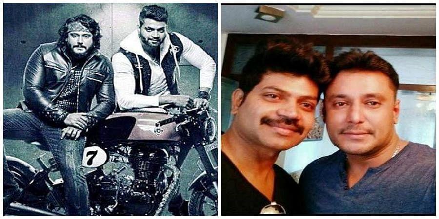 Vinod Prabhakar  And Darshan