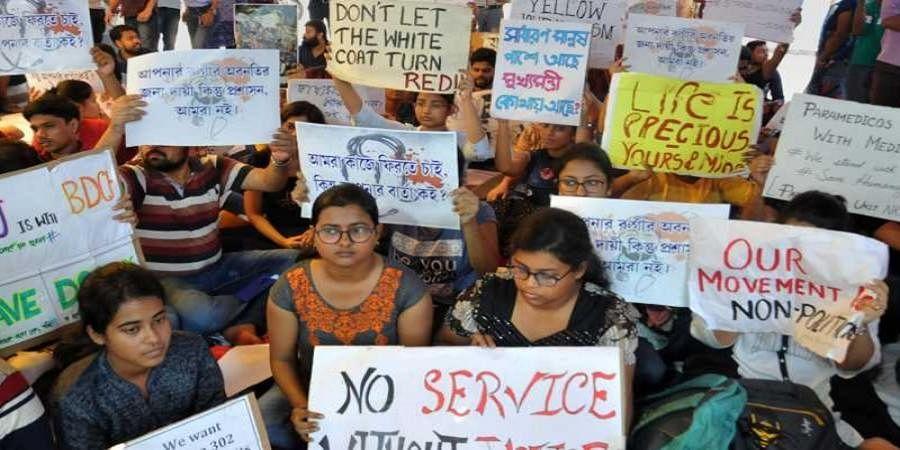 Doctors turn down invite for closed-door meet with Mamata Banerjee