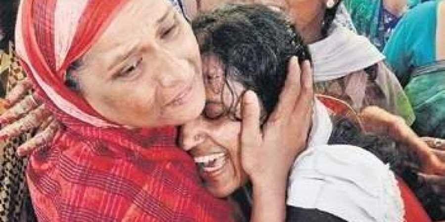 Omkar Mother breaks down