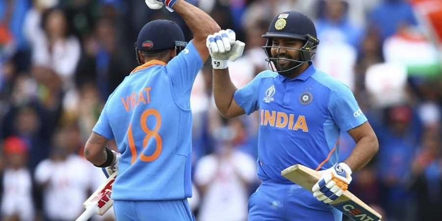World Cup 2019: Rohit, Kohli help India finish with 336/5