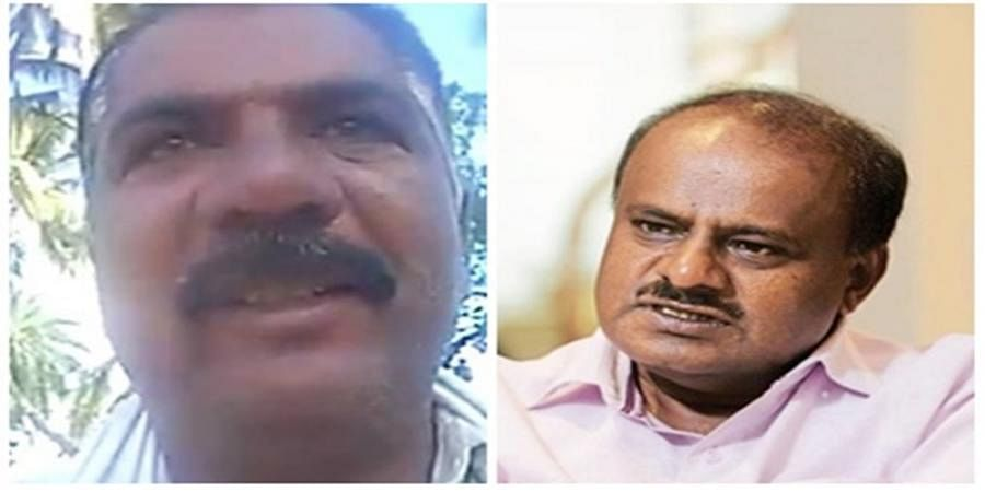 Mandya farmer sent a selfie video to CM HDK and committed suicide