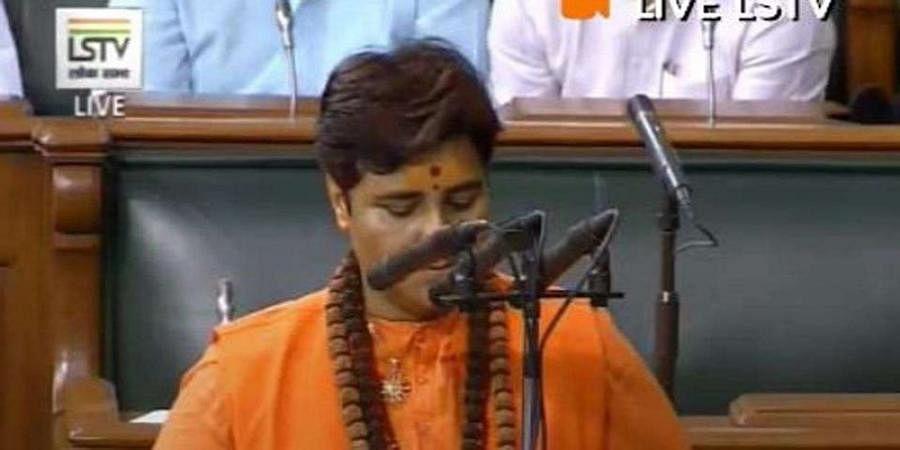 Pragya creates row with her name during oath taking