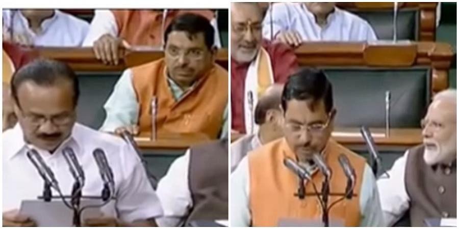 DV Sadananda gowda, Prahlad Joshi