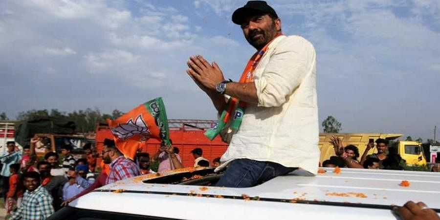 EC issues notice to Sunny Deol for exceeding Rs 70 lakh poll expense limit