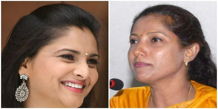 Ramya-Dr Pushpa Amaranath (File photo)