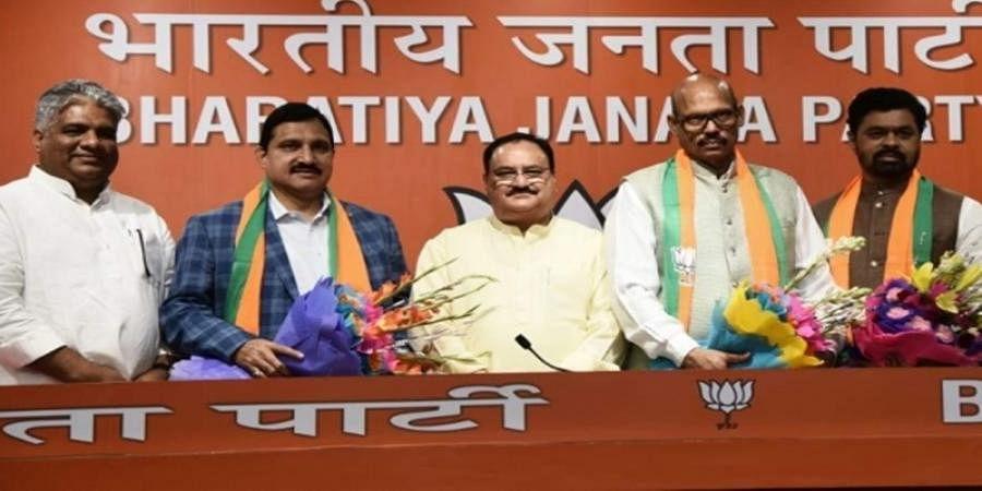 TDP crisis deepens as four Rajya Sabha MPs jump ship to BJP