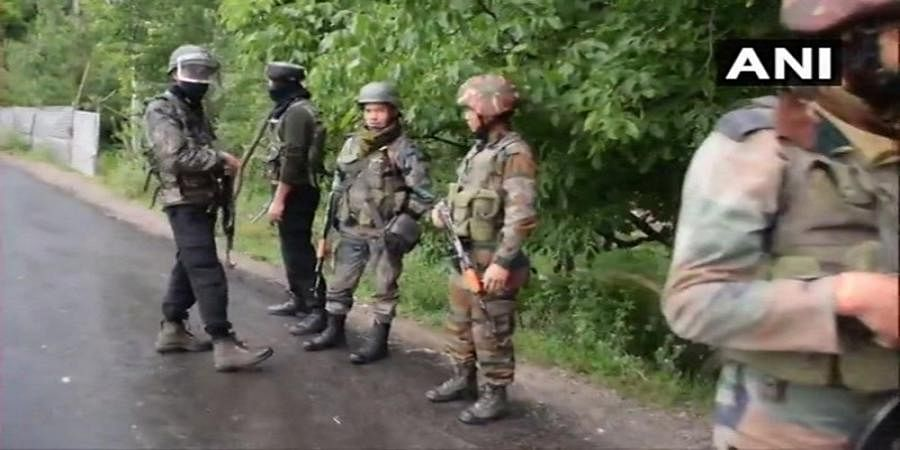 J-K 4 terrorists killed-in Shopian encounter