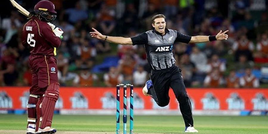 New Zealand beat West Indies by five runs despite Brathwaite fireworks