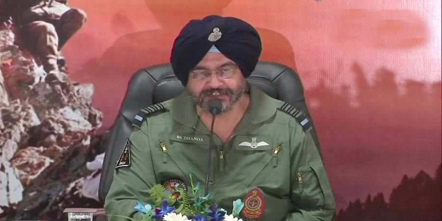 Pakistan never crossed LoC after Balakot airstrike, failed in its mission: IAF chief BS Dhanoa