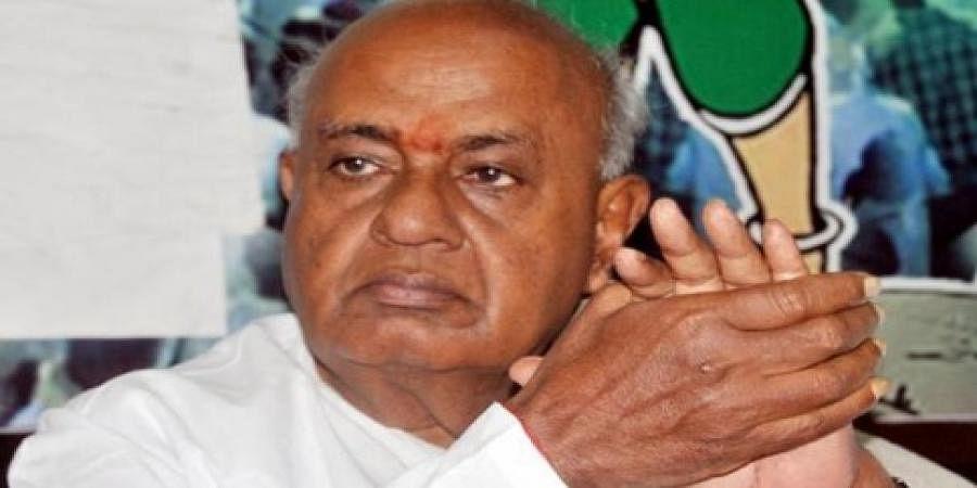 HD Deve Gowda slams BS Yeddyurappa over CM Kumaraswamy's 'Village Stay'