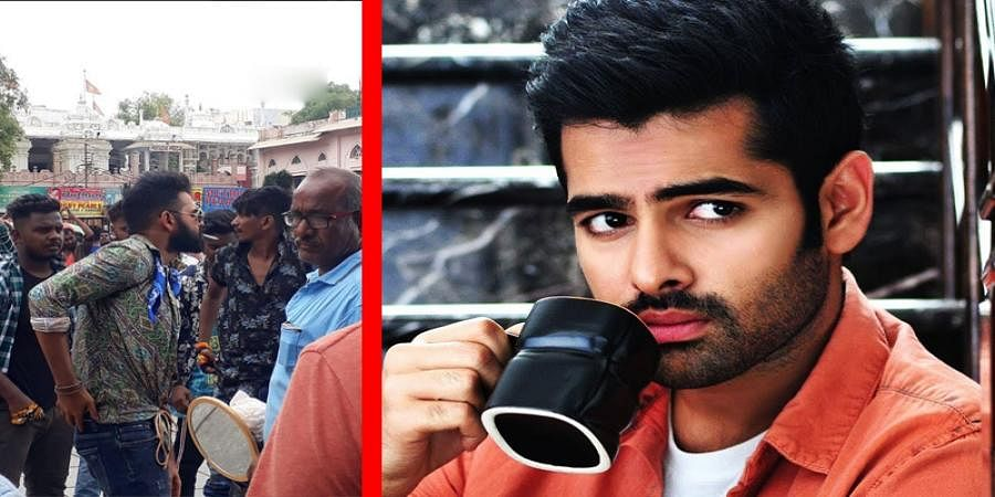 Tollywood actor Ram Pothineni was fined of Rs 200 by the police