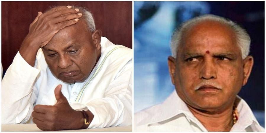 Protest on the way to Grama Vastavya is BJP's conspiracy, says HD Devegowda