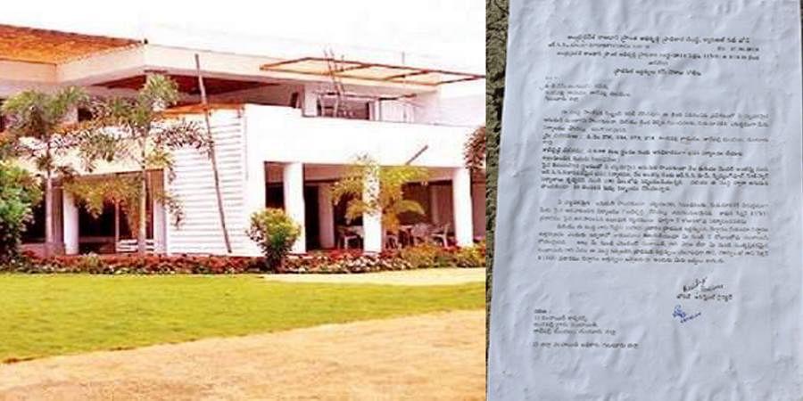 Naidu home in Amaravthi