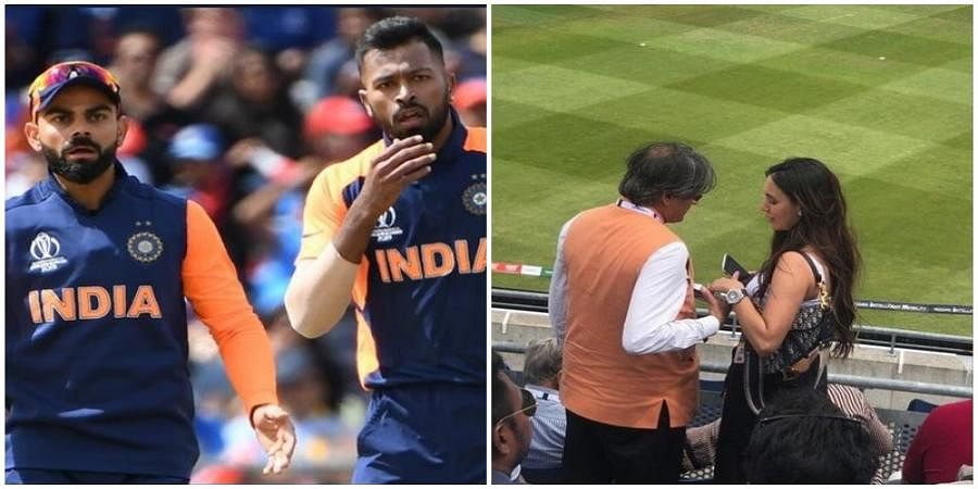 Shashi Tharoor watching India vs England match with women gets trolled in social media