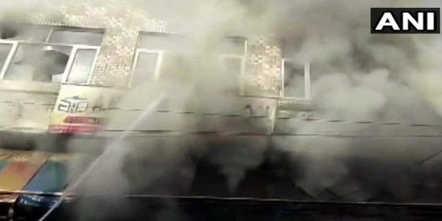 Three, including 2 students, killed in fire at private school in Faridabad