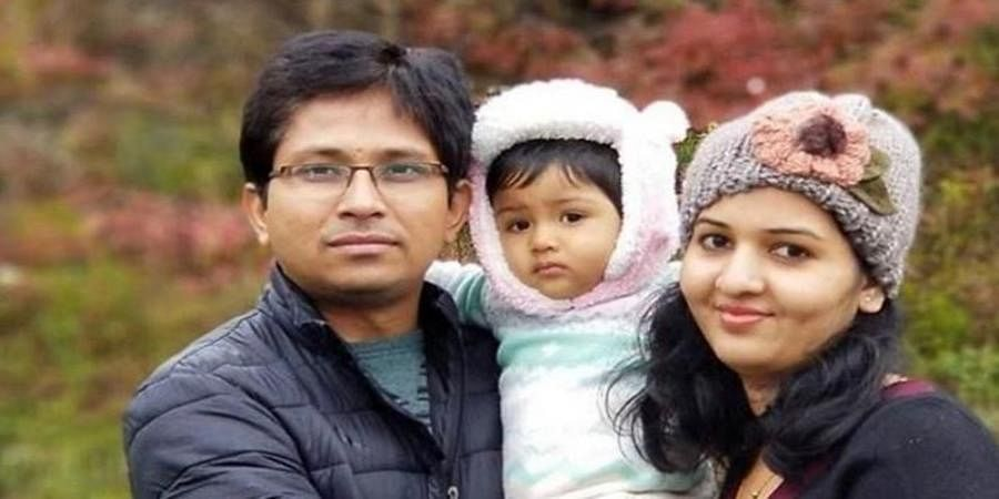 Bidar based techie and his daughter dies in an accident at US