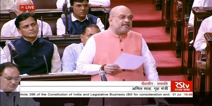 Modi govt committed to bringing Kashmiri Pandits back to valley says Amit Shah