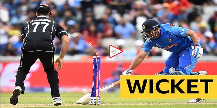 Martin guptill's Match Winning runout Makes india bowdown to New Zealand