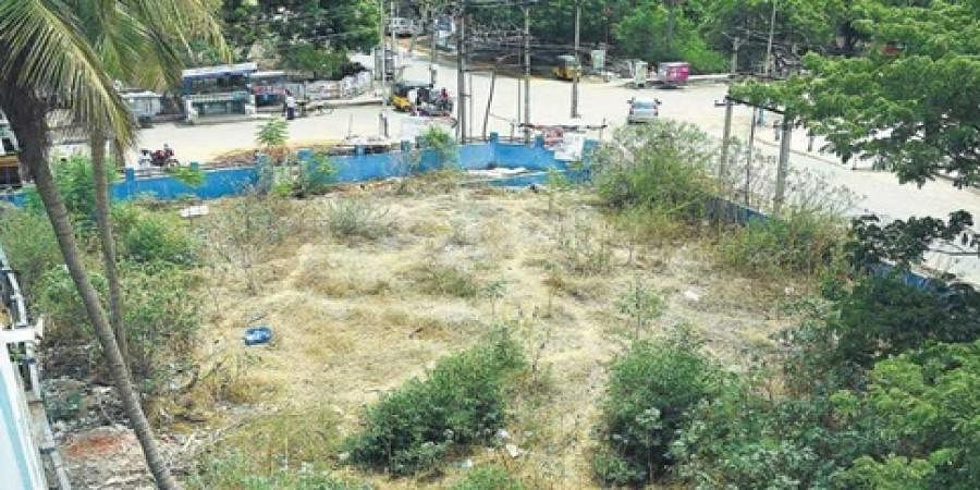 The site at Mathur MMDA, where the building intended for a public healthcare centre once stood, has now been sold to a private party after demolishing the building