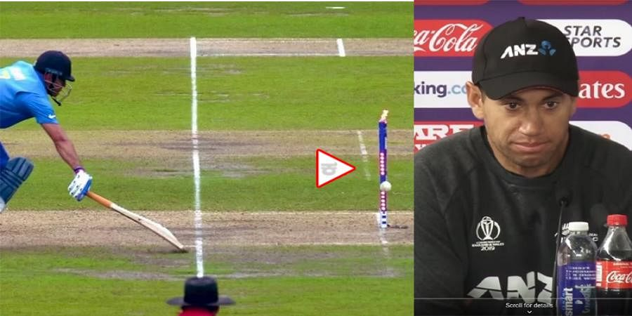 ICC WorldCup 2019: Dhoni's run out was crucial, believes Ross Taylor