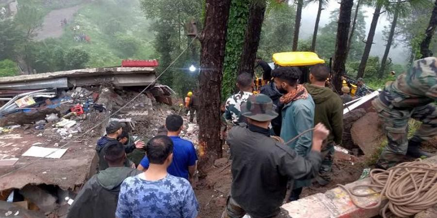 13 armymen among 14 dead in Himachal Pradesh building collapse